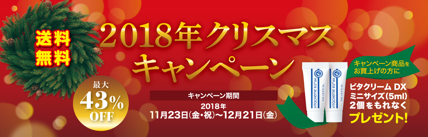 2018年クリスマスキャンペーン